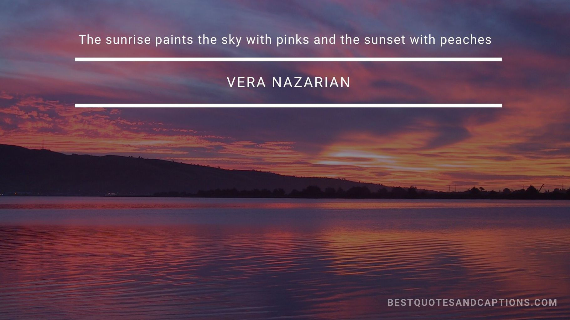 Colourful sunset quotes