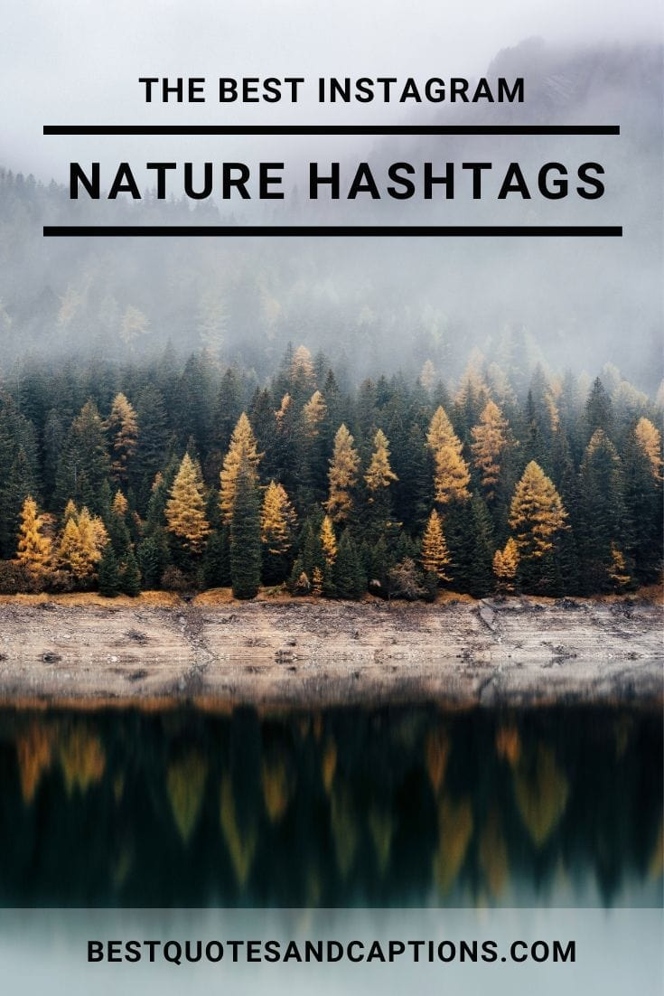 Nature Hashtags for Instagram