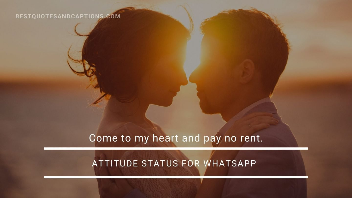 Being single is my attitude status for whatsapp