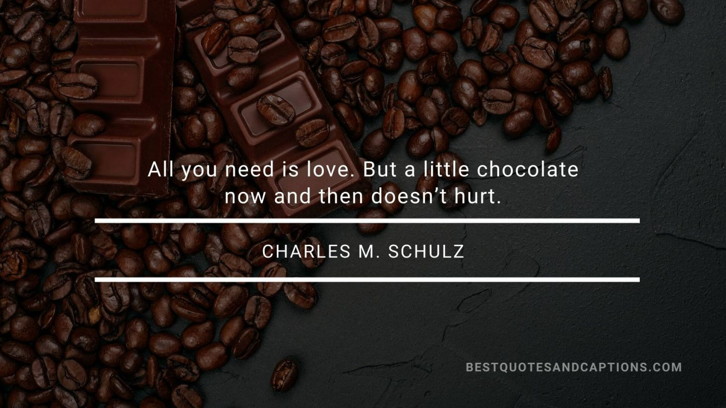 Love for Food Quotes - Charles Schulz