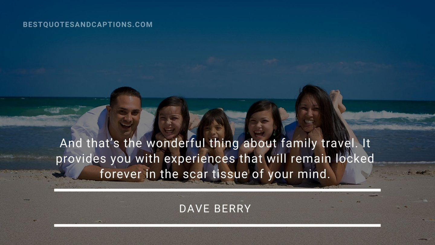 Family vacation quotes funny