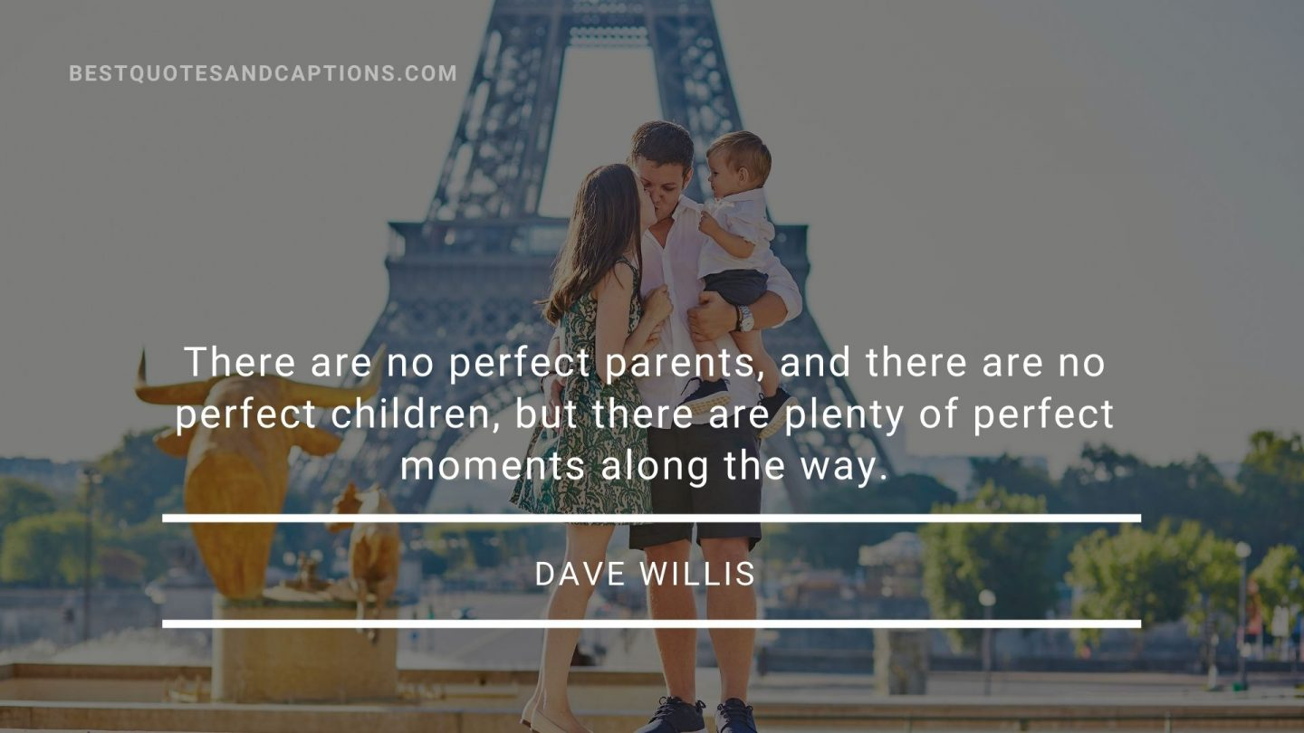 Travelling with family caption - Dave Willis